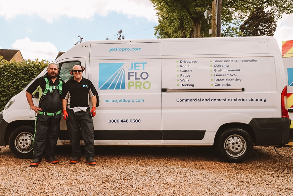 Exterior cleaning specialists Northants
